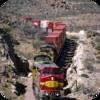 Desert Freight Train