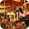 Busy Carnival Carousel