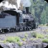 Mountain Steam Train