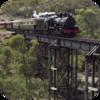 Locomotive Over Bridge