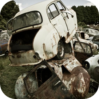 Rusty Metal Scrapes
