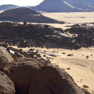 Desert Mountain Top Wind