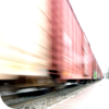 Speeding Freight Train