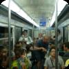 Paris Metro Accordionist