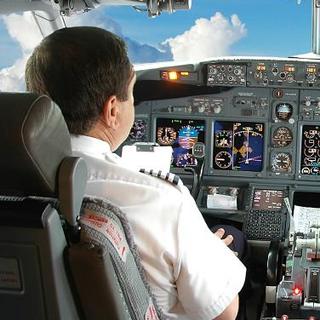 757 Cockpit