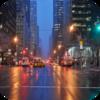 City Rain With Traffic