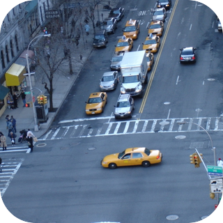 Busy City Intersection 2