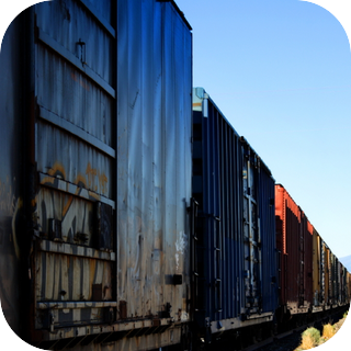 Long Train Passing