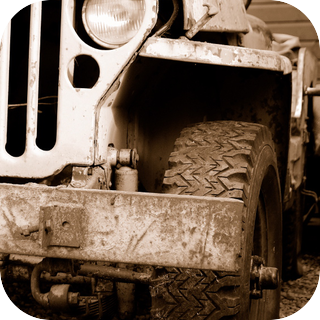 Classic Jeep V8 Engine